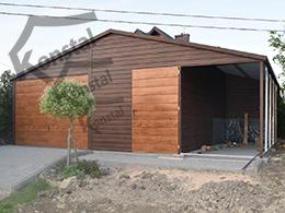 5x5 sedlová střecha SUPERLINE-PLUS přístřešek 2m