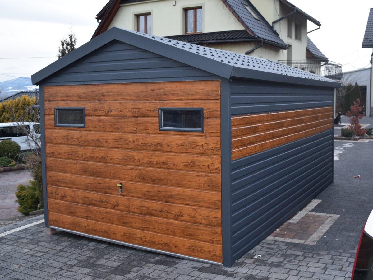 3x5 sedlová střecha EXTRALINE-PRO